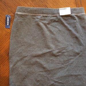 Old Navy gray stretch skirt
